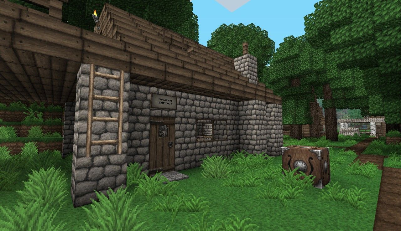 Minecraft Texture Pack - Ovo's Rustic Texture Pack 128x128 für Minecraft | Minecraft-Mod.com ...