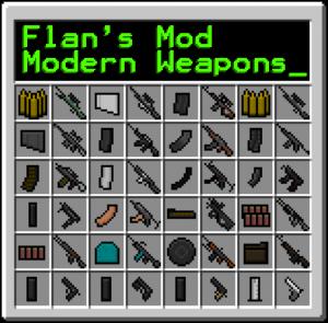 Nga8O 300x295 Minecraft Mod   Moderne Waffen Mod Pack für Minecraft 1.4.6(benötigt Flans Mod)