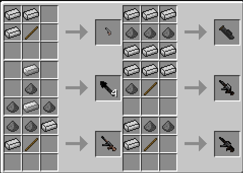 Crafting Recipes Mod