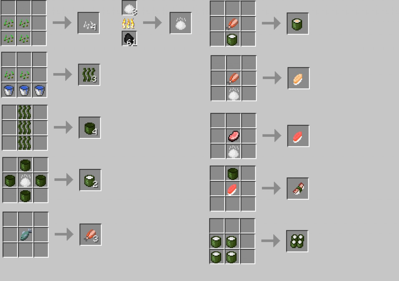 Minecraft   Crafting Recipes Banner