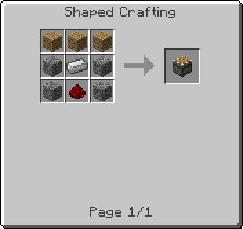 Piston Minecraft Craftin